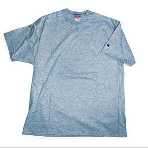 Vintage Champion Grey mens LARGE t shirt